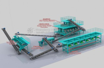 Nissan 200 tons of combination granulation production line
